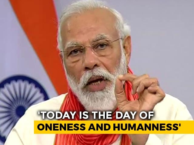 "Video : ""Yoga Brings People Together"", Says PM Modi"
