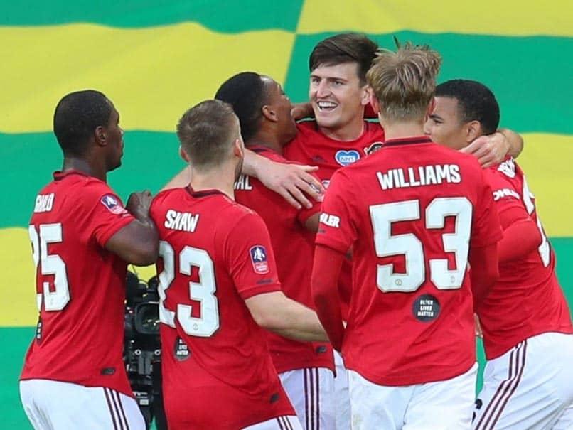 FA Cup: Harry Maguire Sends Manchester United Into Semi-Finals
