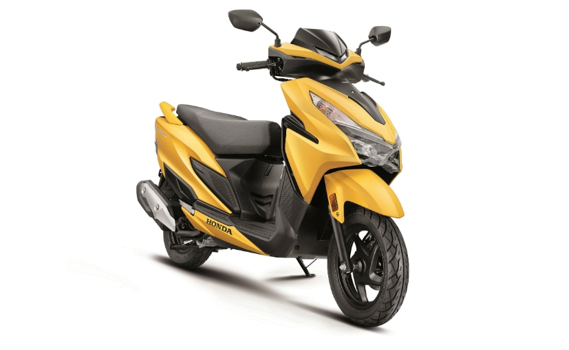 Prices for the Honda Grazia 125 start at Rs. 73,915 (ex-showroom, Delhi)