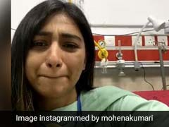 Mohena Kumari Singh Fighting With Corona, She Share A Video from hospital