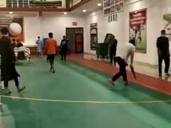 People Play Cricket Inside Quarantine Centre In Omar Abdullah's Video