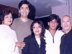 Karan Johar's Throwback Post With Shah Rukh Khan, Akshay Kumar And Yash Johar Is A True Blue Blast From The Past