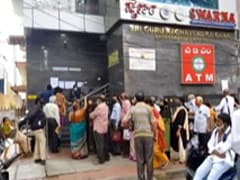 """""""Worse Than COVID"""": Seniors Line Up For Cash At Crisis-Hit Bank In Bengaluru"""