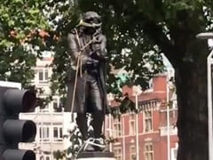 British Slave Trader's Statue Toppled In Anti-Racism Protests In UK