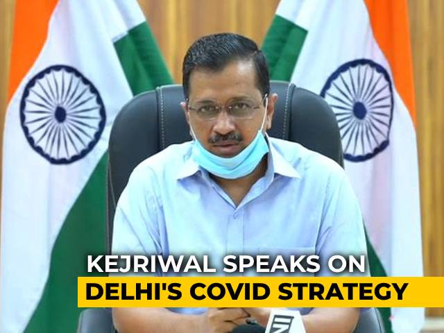 Video : The 5 Weapons In Delhi's Fight Against COVID. Arvind Kejriwal Explains