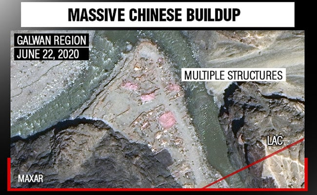Chinese Structures, Soldiers Spotted In Galwan Valley In New ...