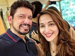"""Madhuri Dixit, Who """"Experimented"""" With Husband Sriram Nene's Hairstyle, Shared The Lockdown Lesson She Learnt"""