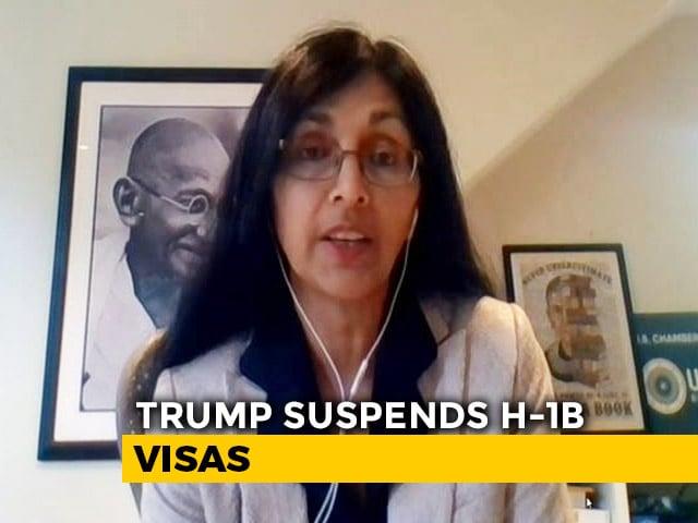 Video : Trump Suspends H-1B Visas: Will USA's Economic Pain Increase?