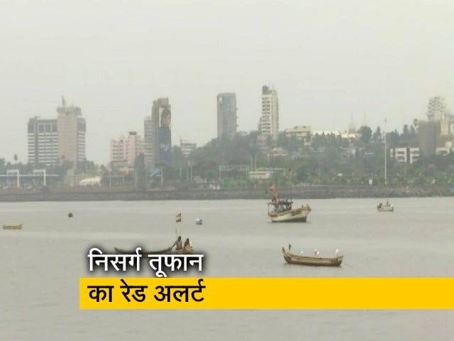 Videos : निसर्ग तूफान के चलते समुद्र के किनारे की बस्तियां कराई गई खाली