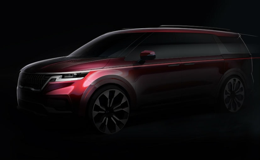 The new-generation Kia Carnival will sport an SUV-inspired design language