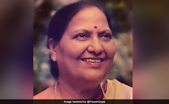 Union Minister Piyush Goyal's Mother Dies, Leaders Give Condolences