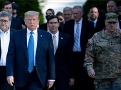Top US General Sorry For Joining Trump Church Walk During Protests