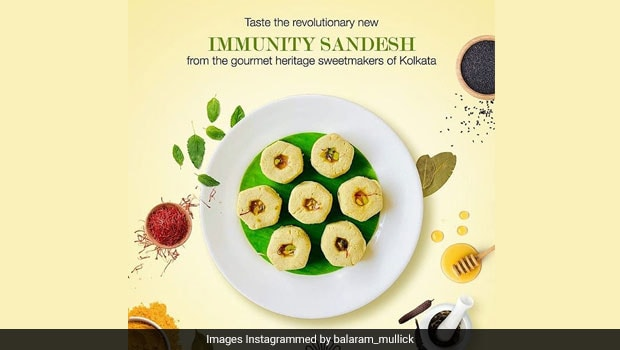 Immunity Sandesh – This Viral Bengali Sweet Is Made With 15 Immunity-Boosting Herbs And Spices