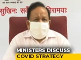 """Video : """"85% Cases, 87% Deaths From 8 States"""": Harsh Vardhan At COVID-19 Meeting"""