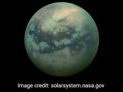 On Saturn's Moon Titan, Volcano Like Features Found By NASA Spacecraft