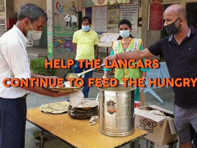 Video : <i>Dil Se Sewa</i>: Contribute To Help Our Langars Feed The Hungry