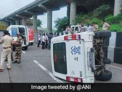 Cop Injured As Car In Sharad Pawar's Convoy Skids Off Mumbai-Pune Expressway