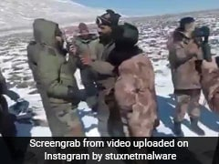Video Shows High-Altitude Clash Between Indian, Chinese Troops In Sikkim