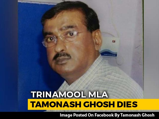 Video : Trinamool MLA Tamonash Ghosh, 60, Dies In Hospital. He Tested Positive