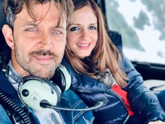 Sussanne Khan's Post For Hrithik Roshan Gets A Comment From Actor's Mom Pinkie