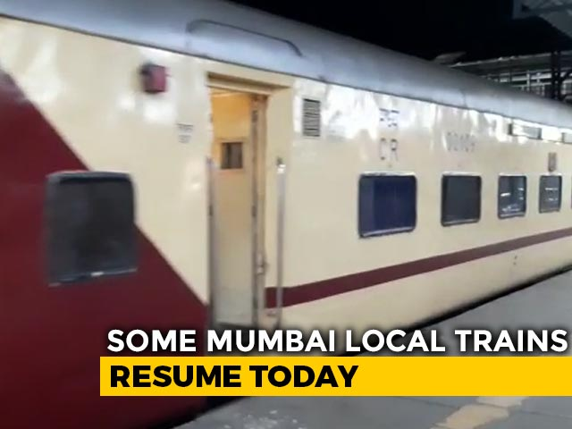 Video : Some Mumbai Local Trains For Essential Staff From Today