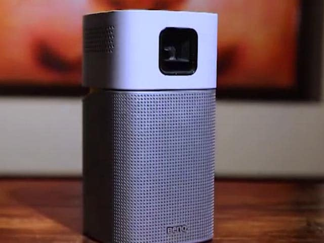Video : BenQ's Cute and Portable Projector