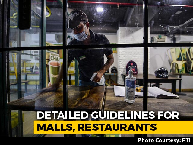 Video : Staggering Of Visitors, No Touching Idols: Guidelines For Malls, Religious Places