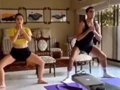 Sara Ali Khan's Workout Partner Is Usual Suspect Brother Ibrahim