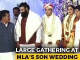 Video : Karnataka MLA's Son Weds, Health Minister Present, No Social Distancing