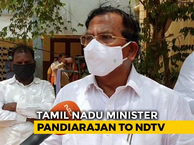 Video : Tamil Nadu Minister On COVID-19 Strategy, Challenges And Criticism