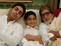 This Throwback Pic Of Amitabh Bachchan With Son Abhishek Bachchan And Grandson Agastya Nanda Is Pure Love