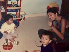 "Sushmita Sen Shares Old Pic Featuring Daughter Renee, Says ""I Was Mothered All Along"""