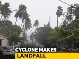 Video: Cyclone Impact Video: Strong Winds, Rain Pound Alibaug, Trees Uprooted