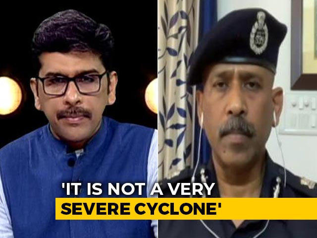 "Video : ""Not A Severe Cyclone, Mumbai Could Be Impacted By Winds,"" NDRF Chief On Nisarga"