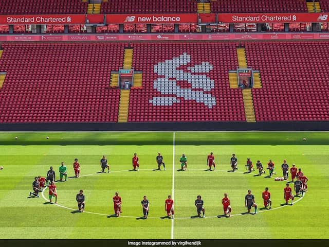 Liverpool Players Show Solidarity With Black Lives Matter Movement After George Floyd Killing