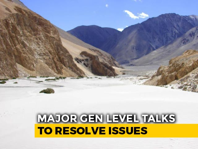 Video : Talks Again Between India, China Major Generals, First Round Inconclusive