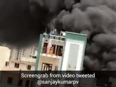 Massive Fire At Chemical Factory In Ghaziabad, Over 10 Fire Trucks On Spot