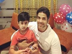 "Tusshar Kapoor's Birthday Wish For His ""Gift From God"" - Son Laksshya"