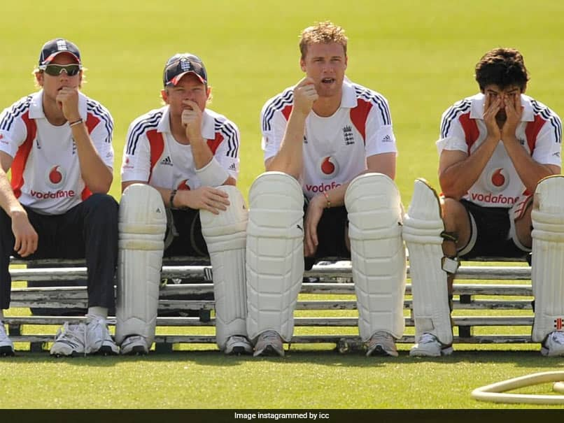 """""""Looks Like Hes Watching Me Bat"""": Jimmy Andersons Hilarious Caption For ICC Throwback Picture"""