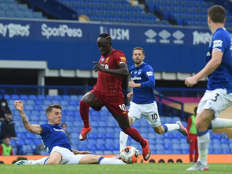 Everton vs Liverpool: Liverpool's Title March Delayed By ...