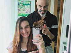 """Raghu Ram Gives Wife Natalie A Haircut At Home: """"She Doesn't Realise The Monster She's Created"""""""