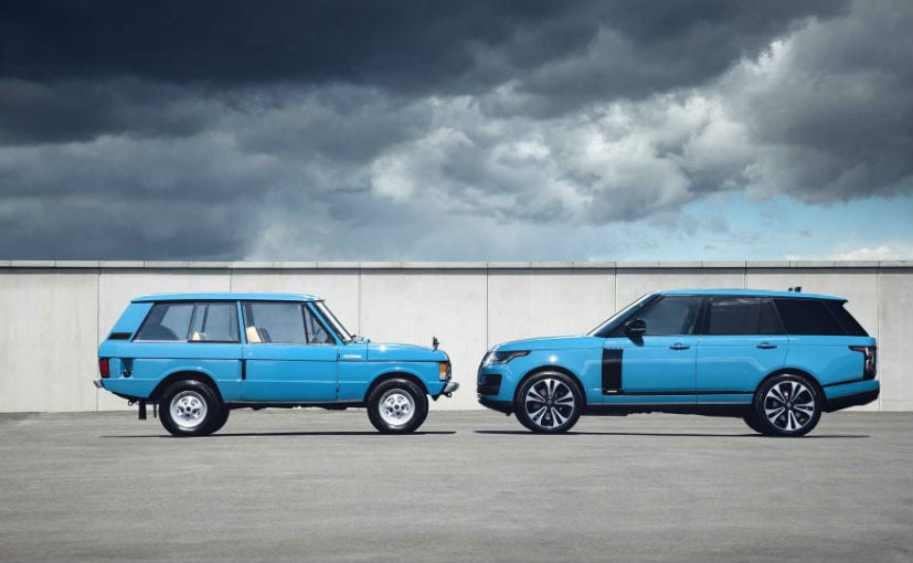 Range Rover Fifty Limited Edition Anniversary Special Revealed