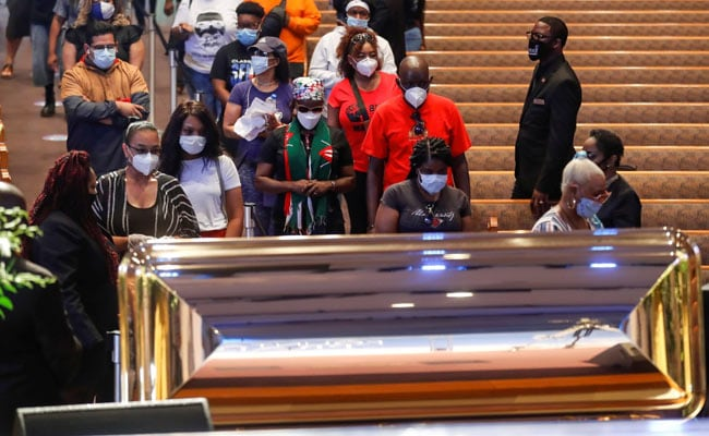 Funeral Service For George Floyd Begins In Houston Amid Global Anti-Race Protests