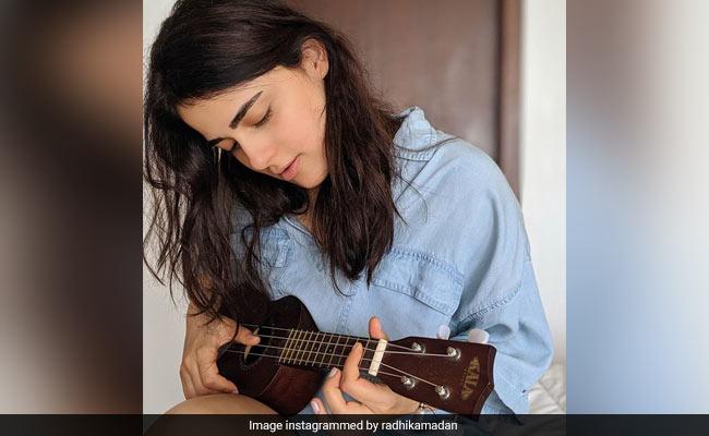 Angrezi Medium Actress Radhika Madan Is Learning Ukulele. See Her Post