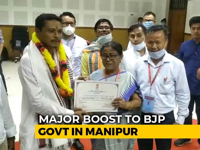 Video : As BJP Wins Manipur Rajya Sabha Seat, Congress Launches Attack