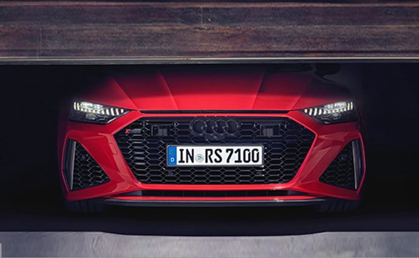 Audi RS7 Sportback teased online ahead of India launch