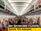 Video : AirAsia Ferries 180 Assam Migrants From Mumbai, With Help From Sonu Sood