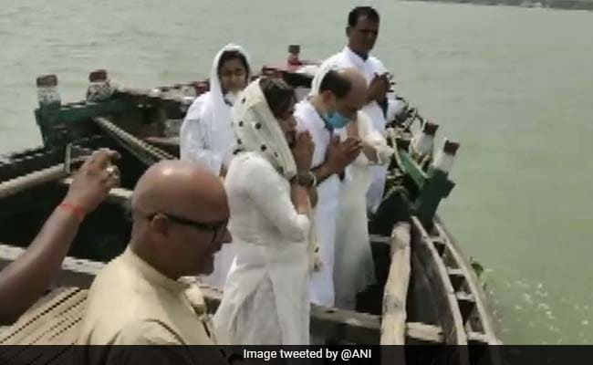 Actor Sushant Singh Rajput's Ashes Immersed In Ganga At Hometown Patna