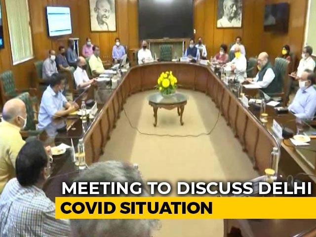 Video : After Meeting Arvind Kejriwal On Virus Crisis, Amit Shah's Plan For Delhi