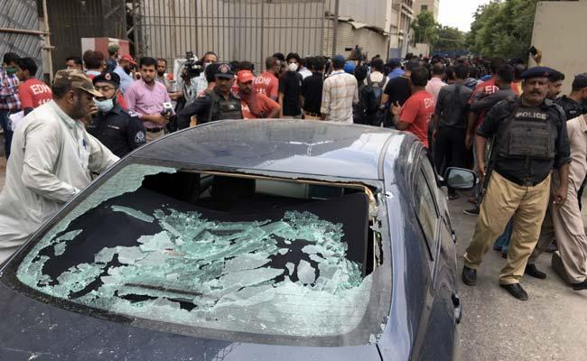6 Killed In Attack On Pak Stock Exchange In Karachi, 4 Gunmen Shot ...